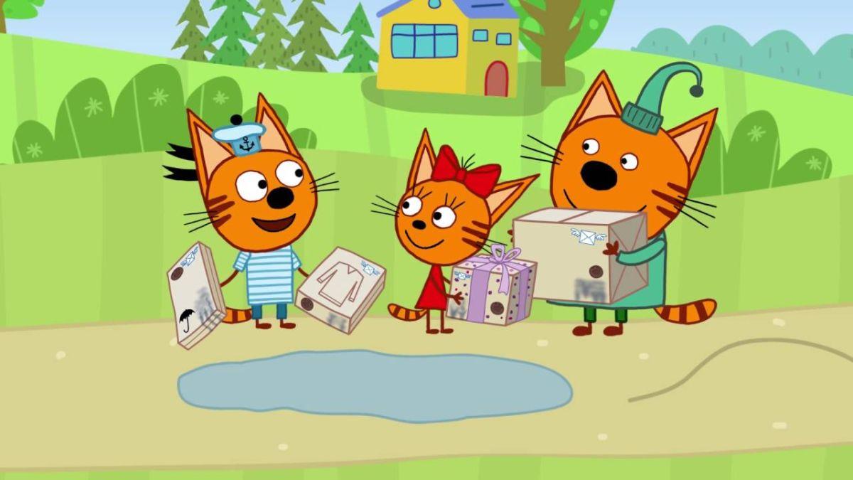 «Три кота» покоряют планету