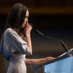 Анджелина Джоли выступила с речью о насилии