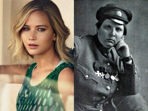 Дженнифер Лоуренс станет первой русской женщиной-офицером